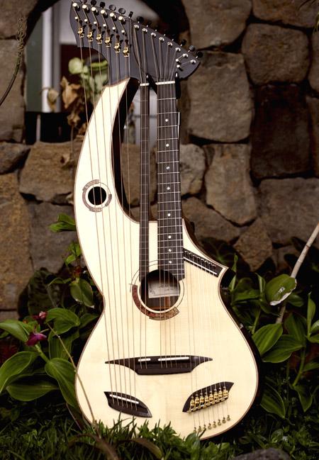 Harp Guitars - White Guitars