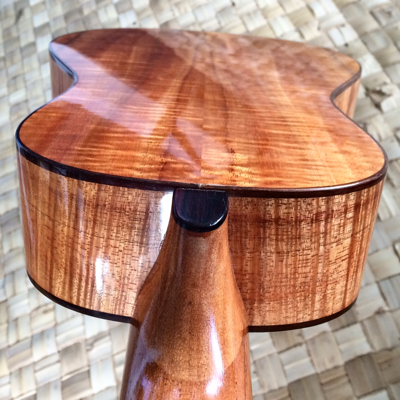 consert ukulele back